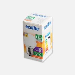 Soft Filament G45 4W E27 2700K Led Ampul
