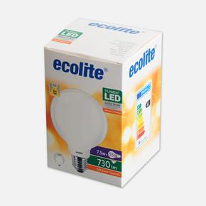 Soft Filament G95 7,5W E27 2700K Led Ampul
