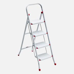 4 Basamaklı Pratik Metal Merdiven