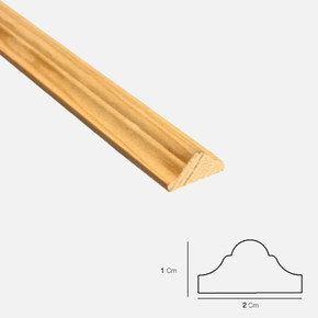 Duvar Kağıdı Çıtası Sarıçam 1. Sınıf 001 200x2,0x1,0 cm