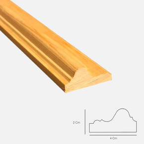 Duvar Kağıdı Çıtası Sarıçam 1. Sınıf 002 100x4,0x2,0 cm