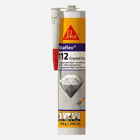 Sikaflex 112 Crystal Clear Tamamen Şeffaf Yapıştırıcı Ve Derz Dolgu Mastiği Şeffaf 290 Ml Kartuş