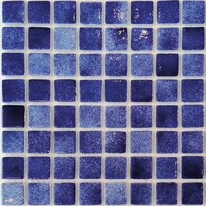 32x32 cm Cam Mozaik Havuz H103 M.Mavi