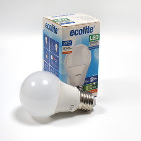 Ecolite Led Classic A60 9W E27 12000K Ampul