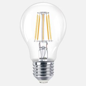 Ecolite Led Filament A60 8W E27 2700K Ampul