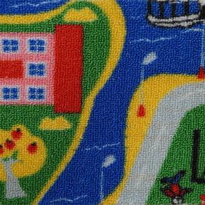 Oyun Parkı Baskılı Çocuk Odası Halısı