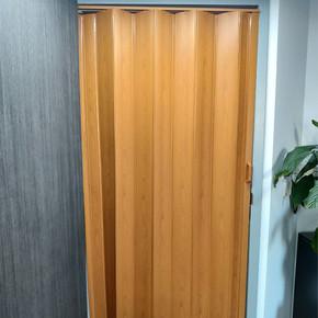 Akordiyon Kapı Kayın