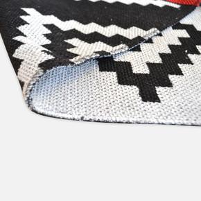 Mina Kilim 120x180 cm Siyah Motif