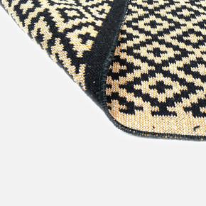 Lara Kilim 80x125 LR01 Siyah Sarı