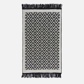 Lara Kilim 120x180 LR01 Siyah Beyaz
