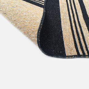 Lara Kilim 120x180 LR2 Siyah Sarı