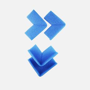 L5 Ambalaj Dirsek Köşe 4'lü 10x10 Mavi