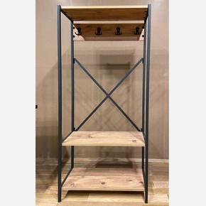 Ferforje Portmanto 73x32x155 cm