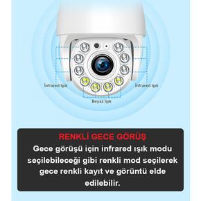GT-IP311 2MP Dış Mekan IP Kamera