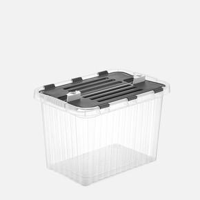 26 lt Derin Split Box Şeffaf