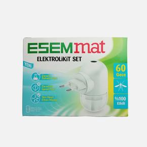 Esemmat Elektrolikit Set  60 Gece Etkili(Cihaz+60 gece Yedek)