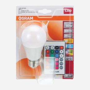 Osram 9W E27 Duy Renk Değiştiren Uzaktan Kumandalı Led Ampul(Sarı ve Beyaz Renk Seçeneği)