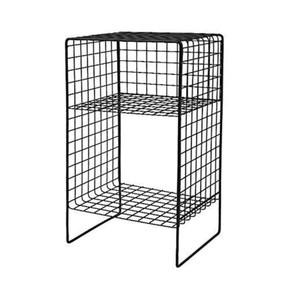 Metal Kafes Raf Ayaklı 25x20x45H cm