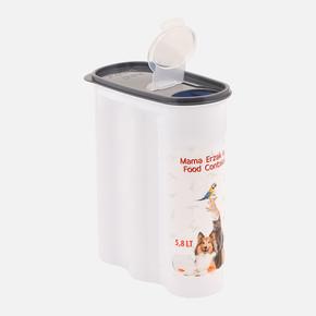 PlastArt PT-285 Evcil Hayvan Mama Saklama Kabı