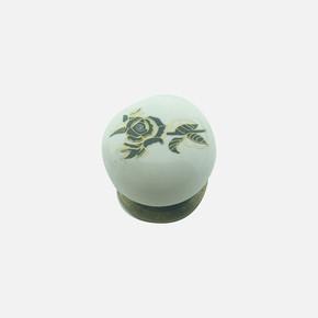 Yıldız Antik Porselen Düğme Kulp