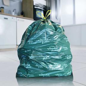 Vileda Büzgülü Çöp Torbası Orta 15li-30 Litre
