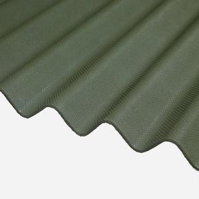 BTM Oluklu Bitümlü Çatı Kaplama Levhası Yeşil
