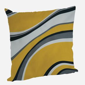 Yastık Kılıfı Wave Sarı 45x45cm