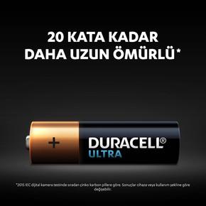 Duracell 8'li Ultra Alkalin AA Kalem Pil
