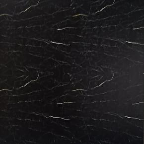 Pvc Karo Mermer Desen Siyah 30x30cm
