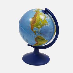 Işıklı 1XE14 20 cm Fiziki Haritalı Dünya Küre