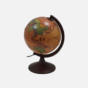 Işıklı 1XE14 20 cm Antik Fiziki Haritalı Dünya Küre