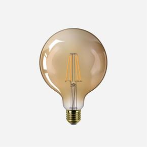 Led 50W G120 E27 2200K Gold Vintage Ampul