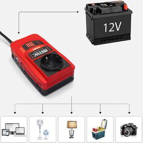 KBN150 12V/220V 150Watt Modifiye Sinüs Dönüştürücü İnvertör