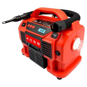 KB300 12Volt/220Volt 160 PSI Dijital Basınç Göstergeli Lastik & Yatak Şişirme Pompası