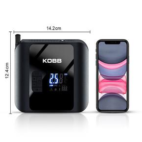 KB420 12Volt / Şarjlı Li-ion 150 PSI Taşınabilir Dijital Basınç Göstergeli Led Aydınlatmalı Akıllı Lastik Şişirme Pompas