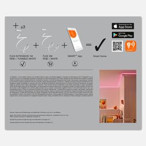 Smart Wifi Flex 1 metre Rgb Led Ayarlanablir