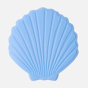 Küvet İçi Paspas 5li Shell Mavi