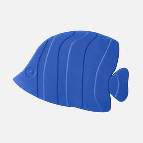 Küvet İçi Paspas 5li Fish Mavi