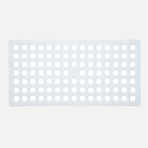 Küvet İçi Paspas White 37x75cm
