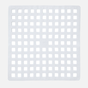 Küvet İçi Paspas White 54x55cm