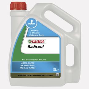 Castrol Radicool Antifrizli 4 Mevsim Soğutma Sıvısı 3 Lt.