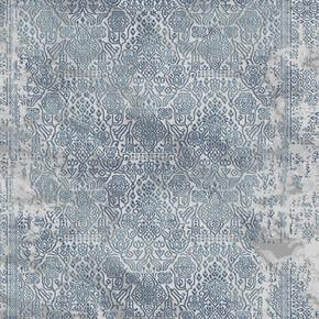 Konforia 8500T Ebatlı Halı Mavi