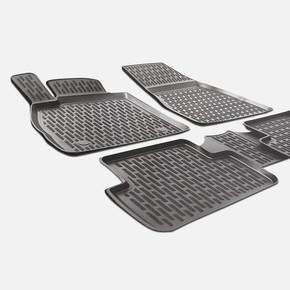 3D X-Mat Havuzlu Oto Paspas Siyah- Hyundai İ30 12-18
