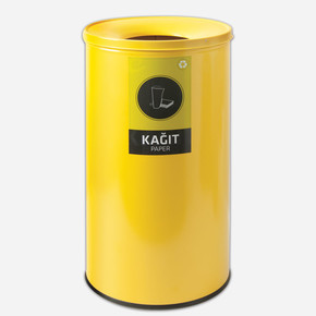 Geri Dönüşüm Çöp Kovası Sarı