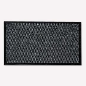 Halı Paspas Gri Siyah Kırçıllı 90x150cm