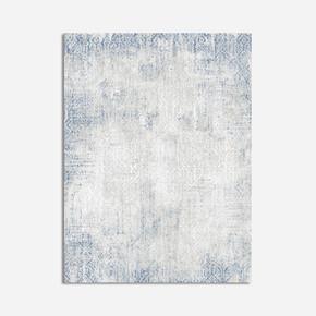 Bodrum Grey Blue Ebatlı Halı