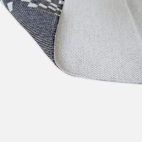 Mina Kilim 120x180 cm Antrasit Bordür