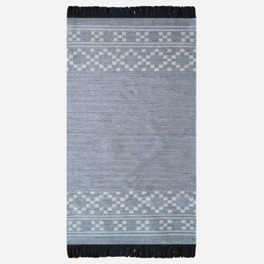 Mina Kilim 120x180 cm Gri Bordür