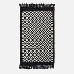 Lara Kilim 80x125 LR01 Siyah Beyaz